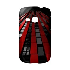 Red Building City Samsung Galaxy S6310 Hardshell Case