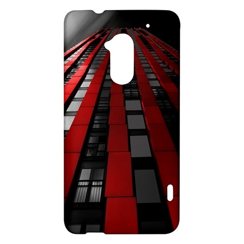 Red Building City HTC One Max (T6) Hardshell Case