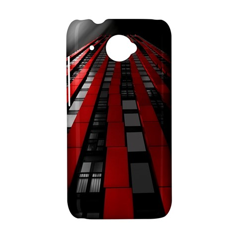 Red Building City HTC Desire 601 Hardshell Case
