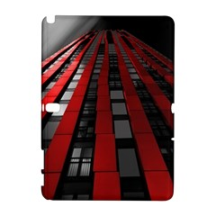 Red Building City Samsung Galaxy Note 10.1 (P600) Hardshell Case
