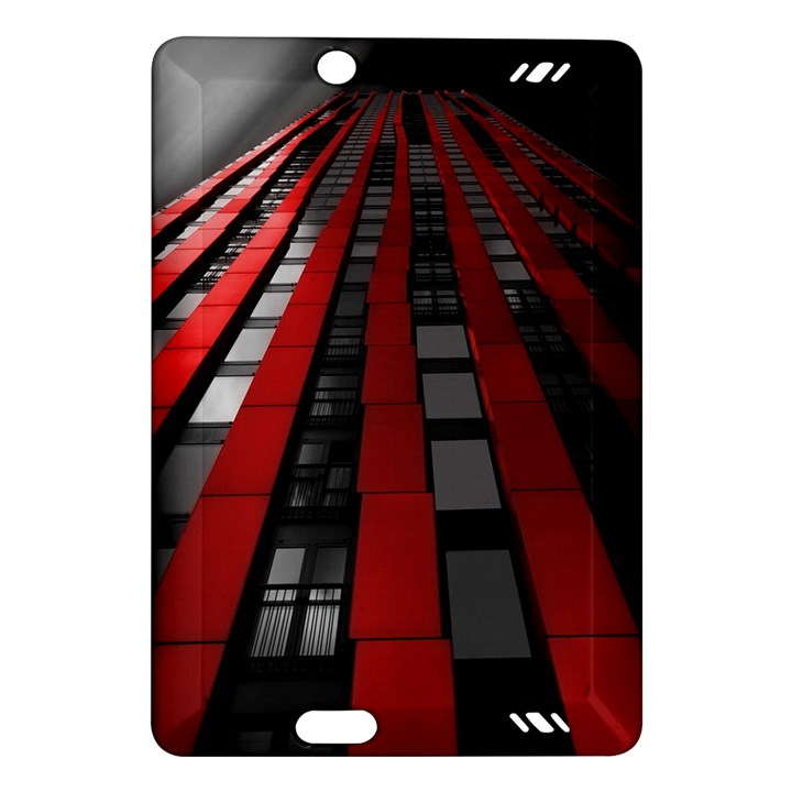 Red Building City Amazon Kindle Fire HD (2013) Hardshell Case