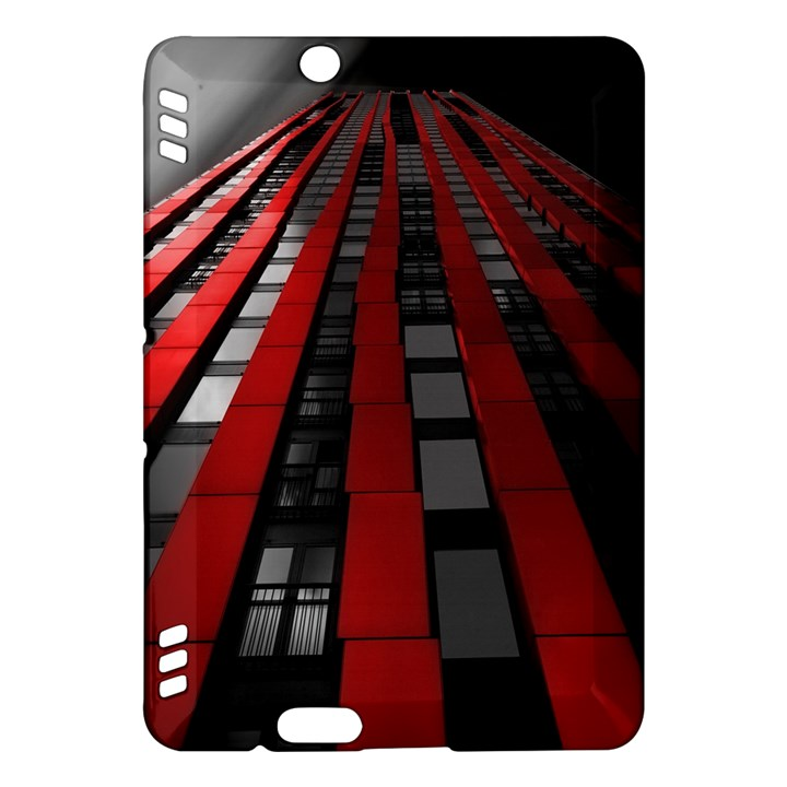Red Building City Kindle Fire HDX Hardshell Case