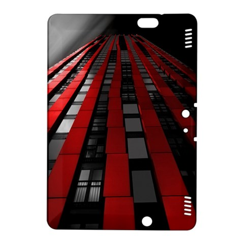 Red Building City Kindle Fire HDX 8.9  Hardshell Case