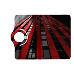 Red Building City Kindle Fire HD (2013) Flip 360 Case Front
