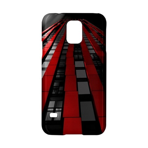 Red Building City Samsung Galaxy S5 Hardshell Case