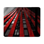 Red Building City Samsung Galaxy Tab Pro 8.4  Flip Case Front