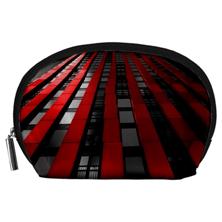 Red Building City Accessory Pouches (Large)