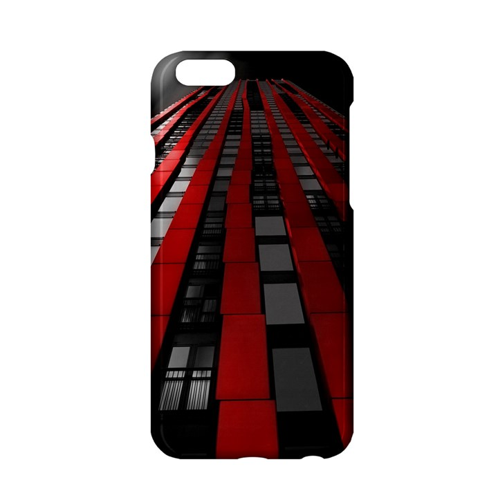 Red Building City Apple iPhone 6/6S Hardshell Case