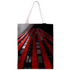 Red Building City Classic Light Tote Bag