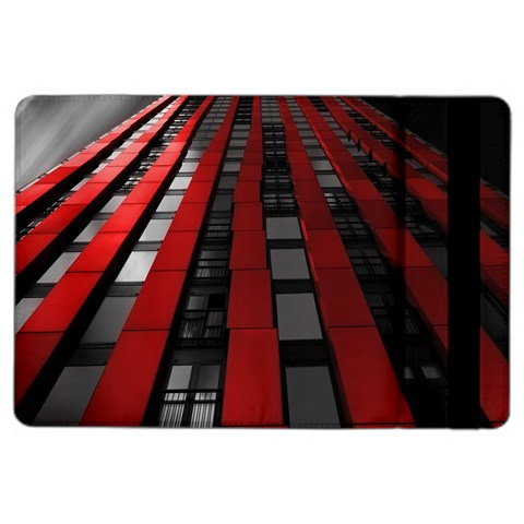Red Building City iPad Air 2 Flip