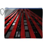 Red Building City Canvas Cosmetic Bag (XXXL) Front