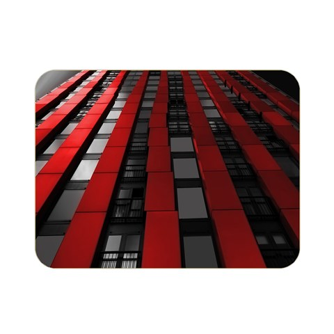 Red Building City Double Sided Flano Blanket (Mini)