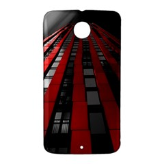 Red Building City Nexus 6 Case (White)