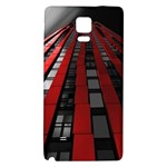 Red Building City Galaxy Note 4 Back Case Front