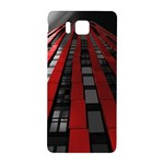 Red Building City Samsung Galaxy Alpha Hardshell Back Case Front