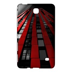 Red Building City Samsung Galaxy Tab 4 (7 ) Hardshell Case