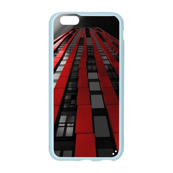 Red Building City Apple Seamless iPhone 6/6S Case (Color)