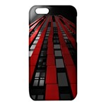 Red Building City iPhone 6/6S TPU Case Front