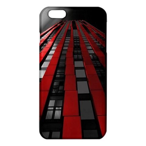 Red Building City iPhone 6 Plus/6S Plus TPU Case