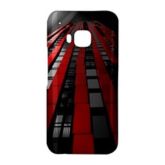 Red Building City HTC One M9 Hardshell Case