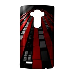 Red Building City LG G4 Hardshell Case