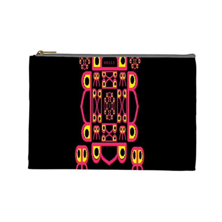 Alphabet Shirt Cosmetic Bag (Large)