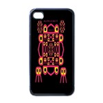 Alphabet Shirt Apple iPhone 4 Case (Black) Front