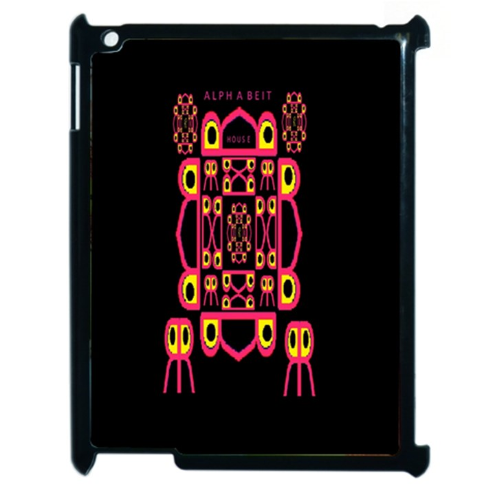 Alphabet Shirt Apple iPad 2 Case (Black)
