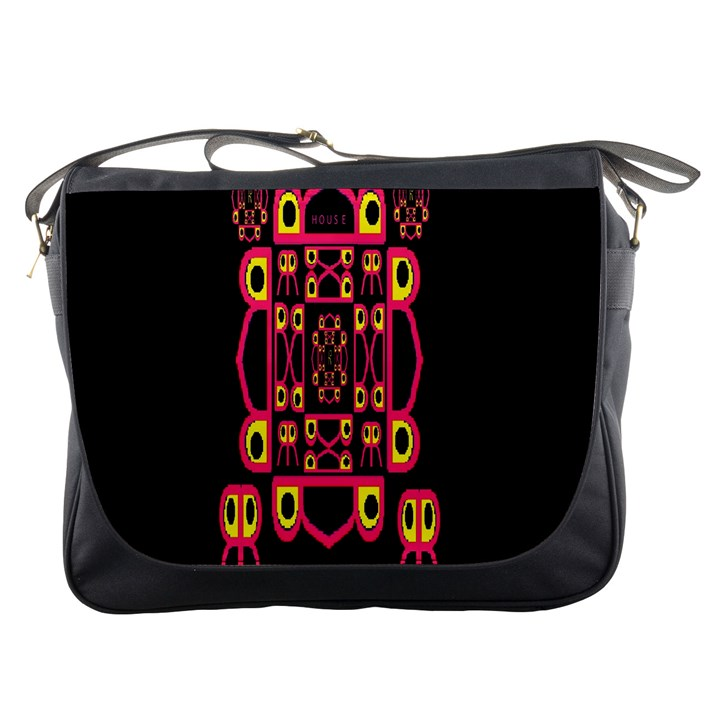Alphabet Shirt Messenger Bags