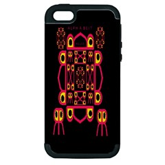 Alphabet Shirt Apple iPhone 5 Hardshell Case (PC+Silicone)