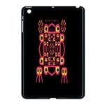 Alphabet Shirt Apple iPad Mini Case (Black) Front