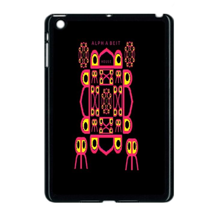 Alphabet Shirt Apple iPad Mini Case (Black)