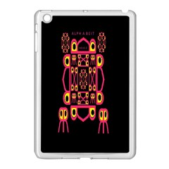 Alphabet Shirt Apple Ipad Mini Case (white)