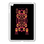Alphabet Shirt Apple iPad Mini Case (White) Front