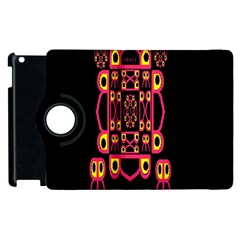 Alphabet Shirt Apple iPad 2 Flip 360 Case