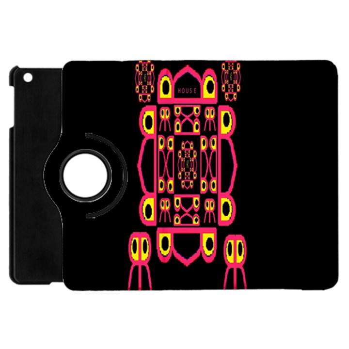 Alphabet Shirt Apple iPad Mini Flip 360 Case