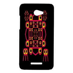 Alphabet Shirt HTC Butterfly X920E Hardshell Case