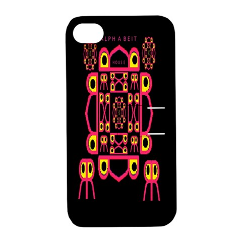 Alphabet Shirt Apple iPhone 4/4S Hardshell Case with Stand