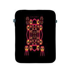 Alphabet Shirt Apple iPad 2/3/4 Protective Soft Cases