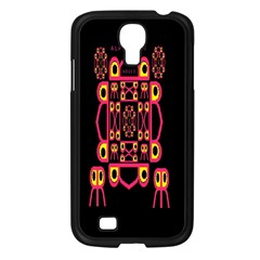 Alphabet Shirt Samsung Galaxy S4 I9500/ I9505 Case (black)