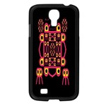 Alphabet Shirt Samsung Galaxy S4 I9500/ I9505 Case (Black) Front