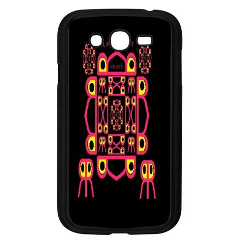Alphabet Shirt Samsung Galaxy Grand DUOS I9082 Case (Black)