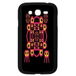 Alphabet Shirt Samsung Galaxy Grand DUOS I9082 Case (Black) Front