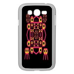 Alphabet Shirt Samsung Galaxy Grand DUOS I9082 Case (White) Front