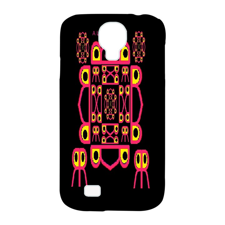 Alphabet Shirt Samsung Galaxy S4 Classic Hardshell Case (PC+Silicone)