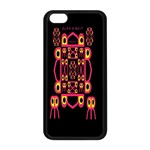 Alphabet Shirt Apple iPhone 5C Seamless Case (Black) Front