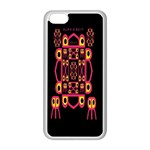 Alphabet Shirt Apple iPhone 5C Seamless Case (White) Front