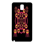 Alphabet Shirt Samsung Galaxy Note 3 N9005 Hardshell Back Case Front