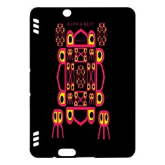 Alphabet Shirt Kindle Fire HDX Hardshell Case