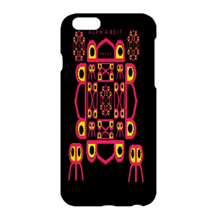 Alphabet Shirt Apple iPhone 6 Plus/6S Plus Hardshell Case